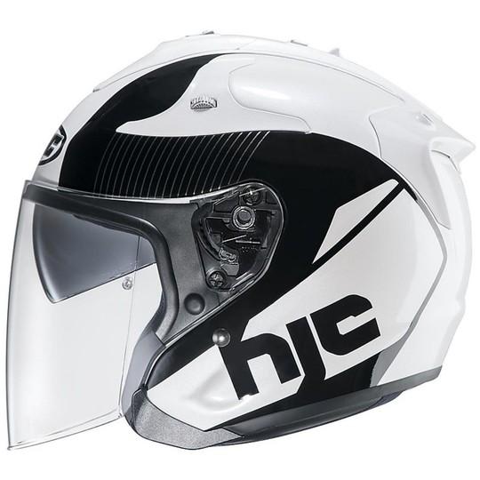 Casque moto Jet Hjc Fibre FG-JET Nouveau ACADIA MC-5