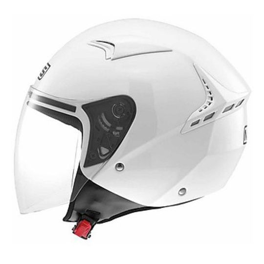 Casque moto Jet Mds G240 Mono Blanc