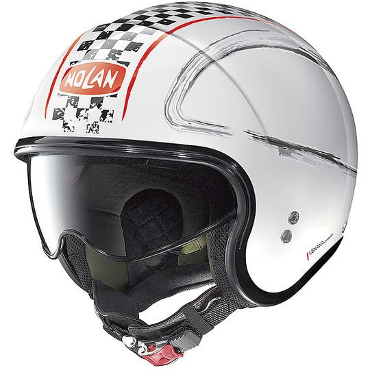 Casque moto Jet Nolan N21 GETAWAY 081 White Metal