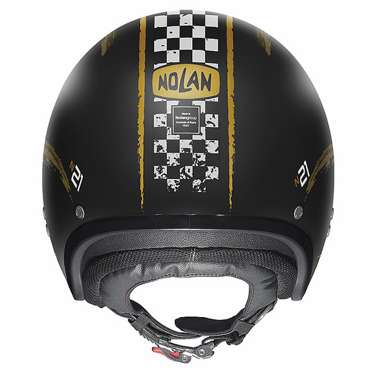 Casque moto Jet Nolan N21 GETAWAY 082 Matt Black