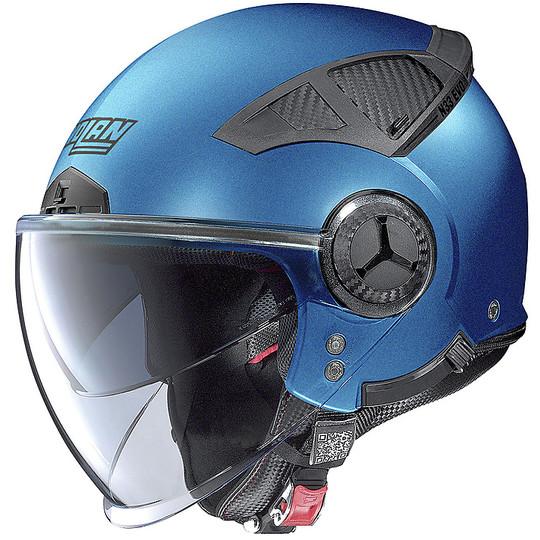 Casque moto Jet Nolan N33 EVO CLASSIC 011 Sapphire Matt Blue