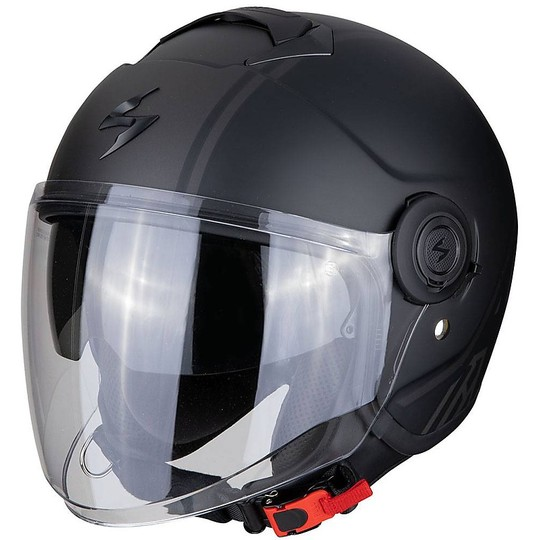 Casque moto Jet Scorpion Exo-City Avenue Matt Black