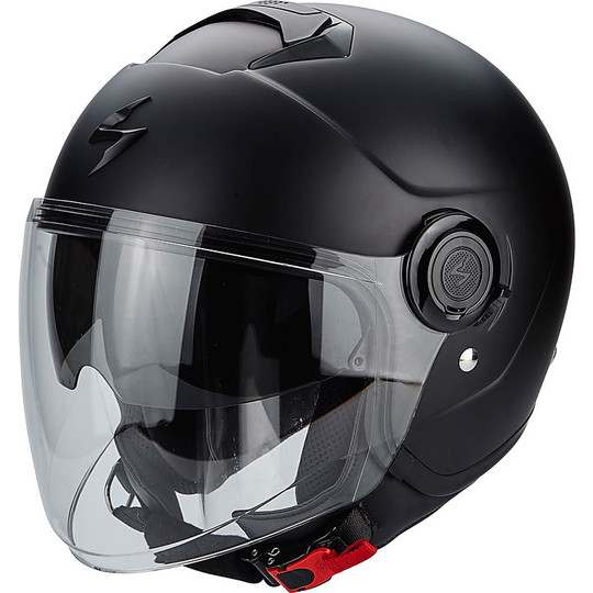 Casque moto Jet Scorpion Exo-City Solid Matt Black