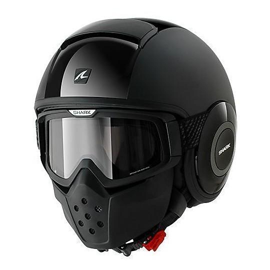 Casque moto Jet Shark DRAK Dual Black Black