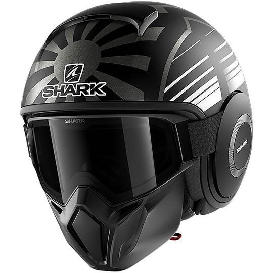 Casque Moto Jet Shark STREET-DRAK ZARCO Mat Malaysia Malaysia Anthracite Black