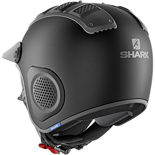 Casque moto Jet Shark X-DRAK Blank Matt Black