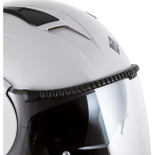 Casque Moto Jet Tucano Urbano 1400 EL TANGE Ice White