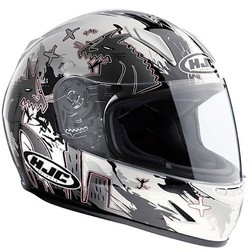 Child Integral Motorcycle Helmet HJC CLY Katzilla MC10 Hjc