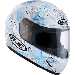 Child Integral Motorcycle Helmet HJC Tableau MC2 Hjc