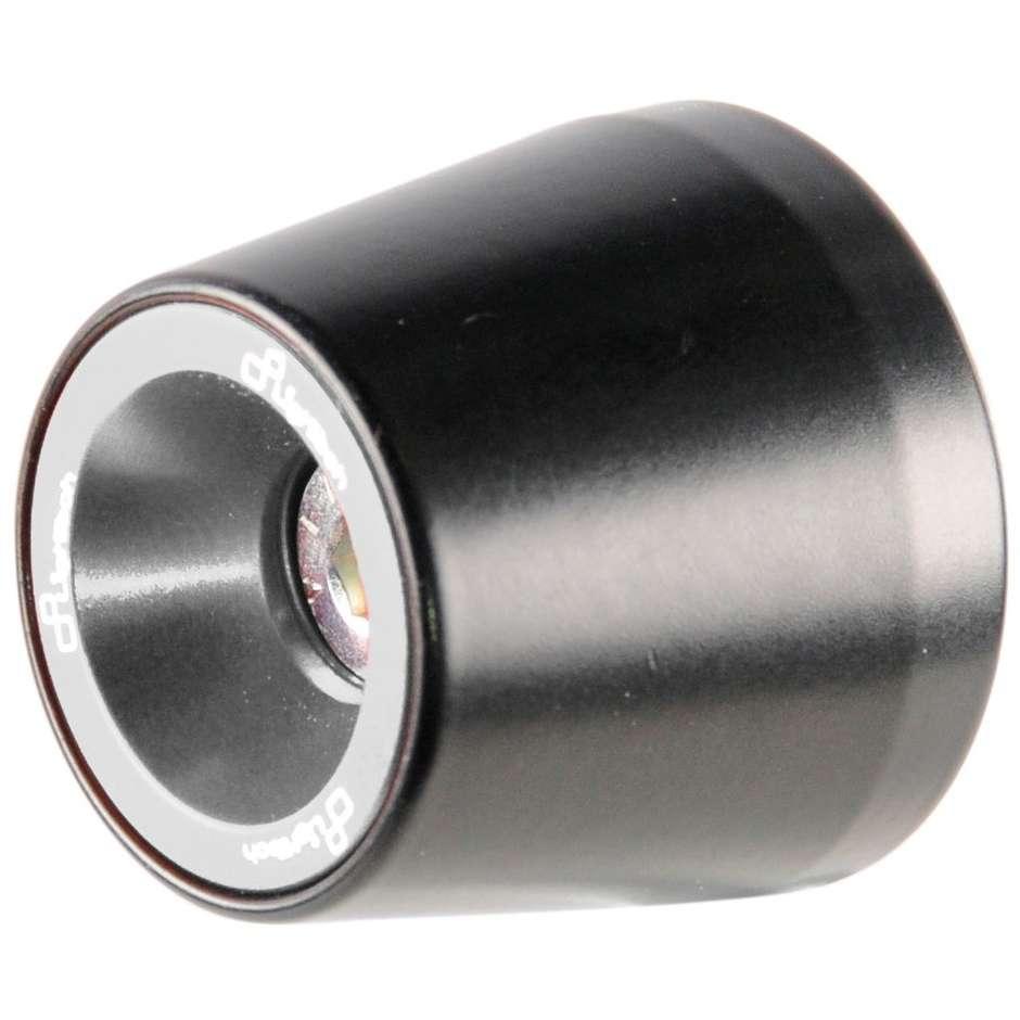 Coppia Bilancieri Contrappesi Moto LighTech KTM207 Silver Specifici Per Kawasaki Z800 (13-16)/ ZX250r (09-12)/ ZX10r (16-20)