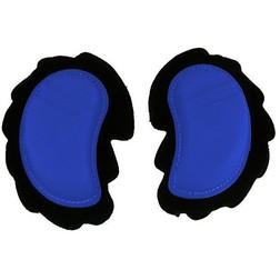 Coppia di Sliders Saponette Universali Mezzaluna Colore Blu In Materiale Termoplastico Black panther