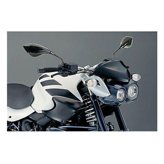 Coppia Specchietti Moto Modello Limits da 10mm Colore Nero
