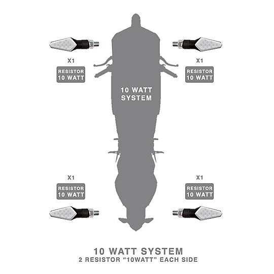 Couple de résistances 10WAT pour flèches Barracuda