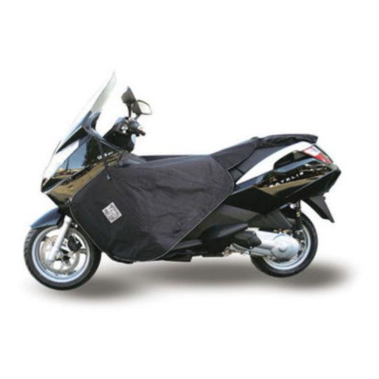 Couvre-jambes Termoscudo pour scooter Tucano Urbano modèle Termoscud R157 pour Pegeout Satelis 125/250/400/500