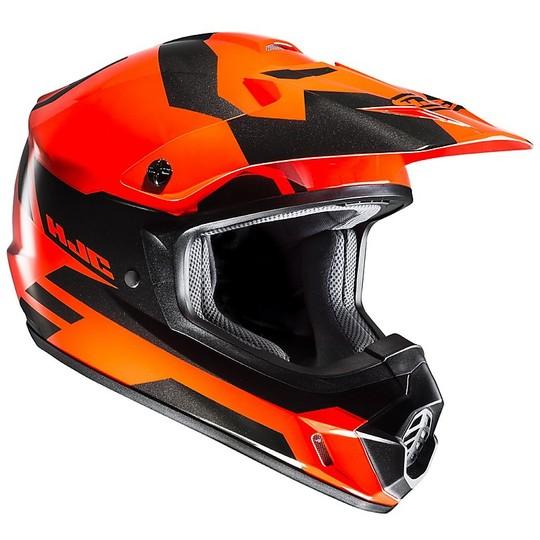 Cross Enduro Casque de moto HJC CS-MX II Pictor MC6H Noir Orange