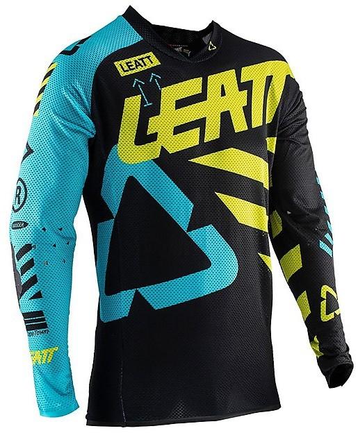 Black Leatt Adults GPX 5.5 Ultraweld Motocross MX Enduro Jersey SALE!