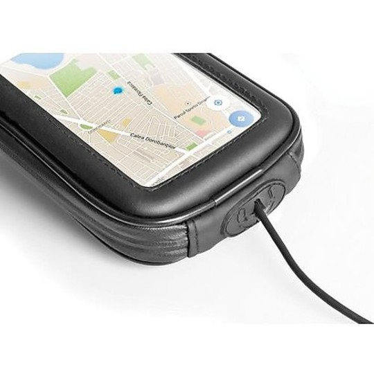 """Custodia Moto Porta Smartphone Lampa Universale Fino a 6"""" Display"""