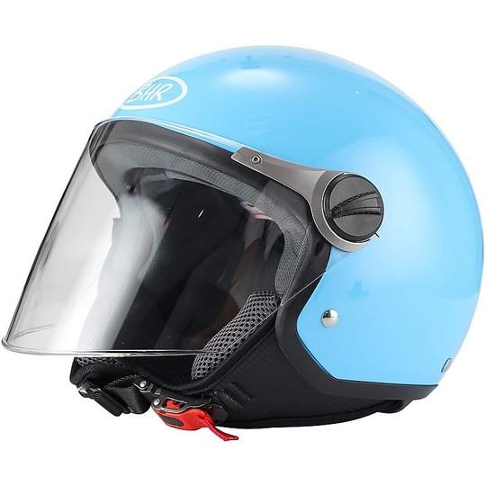 Demi-Jet BHR 710 Blue Casque de moto