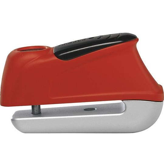 Disque Cadenas Cadenas ABUS Universel Moto et Scooter Trigger Alarm 345 Red Sound