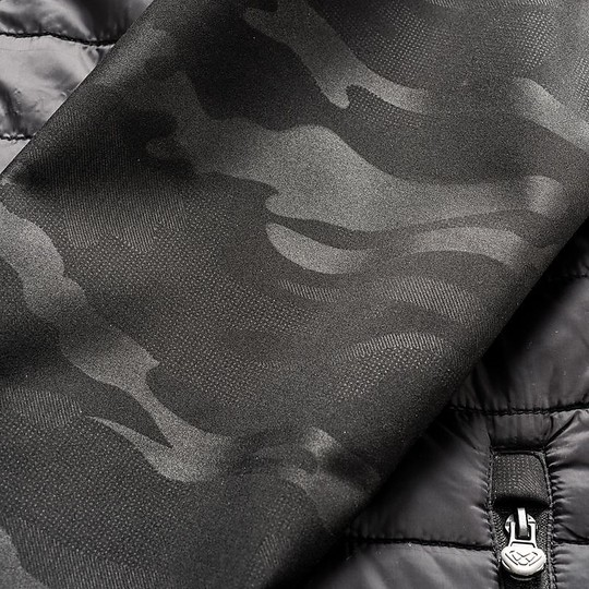 Doudoune Urban Warm Femme Technique Ixon GOTHAM LADY Noir Camo