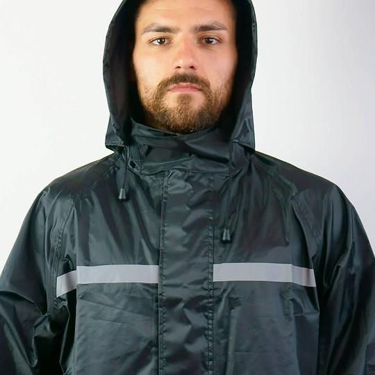 Ensemble imperméable et pantalon de sport Tj Marvin E34 noir (2pcs.)