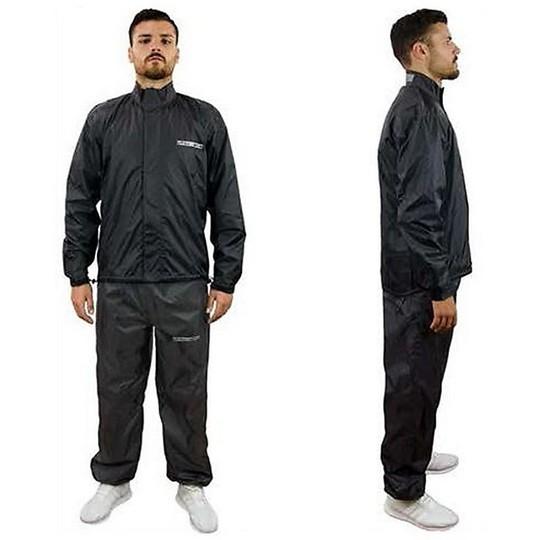 Ensemble veste et pantalon imperméable Mini Tj Marvin E066-00 Noir