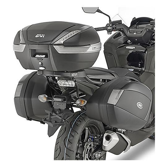 Fixation latérale Givi spécifique aux valises latérales V35 Monokey pour Honda Integra 750 2016-2017