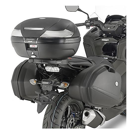Fixation latérale Kappa spécifique aux valises latérales K33 Monokey pour Honda Integra 750 2016-2017