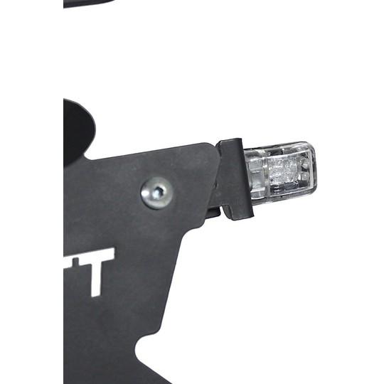 Flèches Moto Chaft plus petite Led Reflex Noir Approuvé Fumé