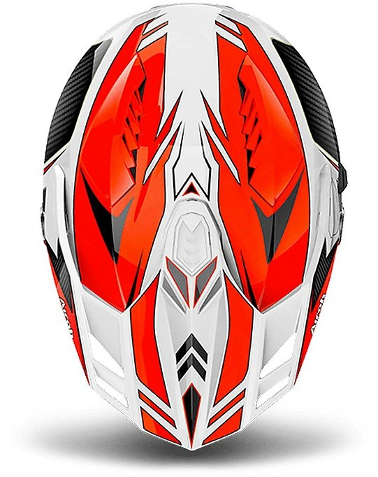 L Orange Gloss CMCA32 Airoh Helmet