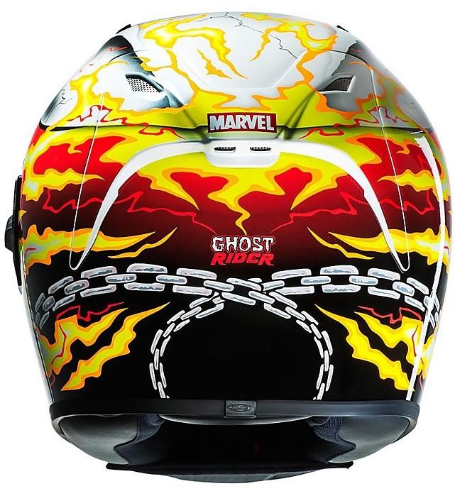HJC Casco integral de motocicleta FG-ST Marvel Ghost Rider