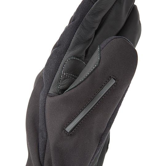 Gant de moto en tissu thermique noir Tucano Urbano 9956HM