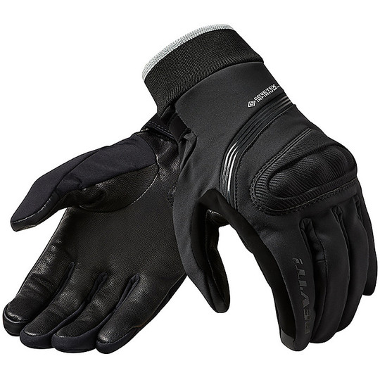 Gant de moto en tissu Windstopper Rev'it CRATER 2 WSP Noir