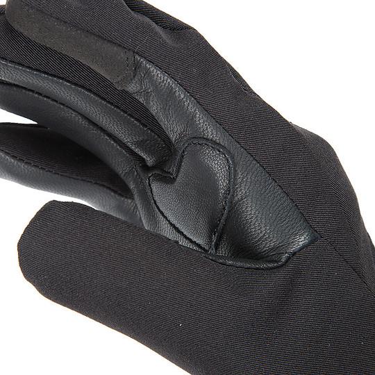 Gant de moto femme en tissu imperméable Tucano Urbano Ginka 9959HW noir