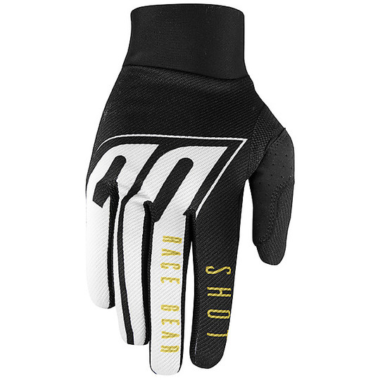 Gants Cross Enduro Shot AEROLITE ALPHA Noir Or