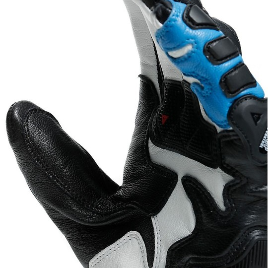 Gants de course moto en cuir Dainese DRUID 3 Track 1