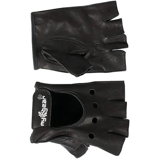 Gants de moto d'été Half Finger Half Finger