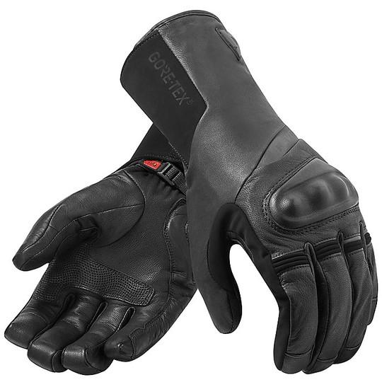 Gants de moto en Gore-Tex Touring Rev'it KODIAK GTX Noir