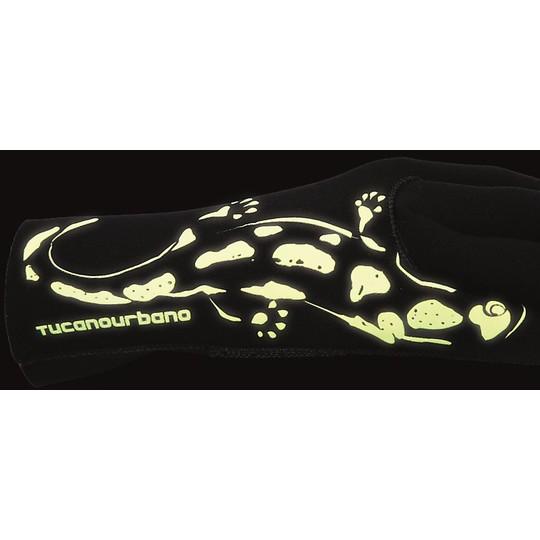 Gants de moto en tissu Tucano Urbano SALAMANDER 9966u noir