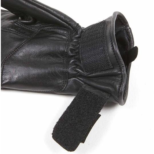 Gants moto été femme cuir Helstons modèle Stella noir