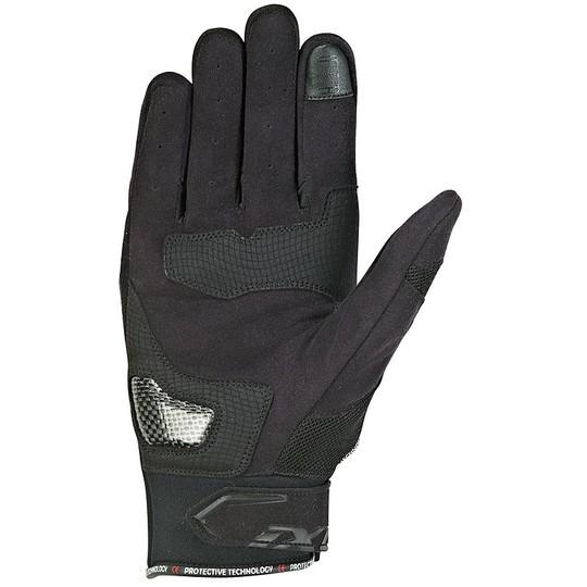 Gants moto été Ixon RS Loop 2 en tissu noir