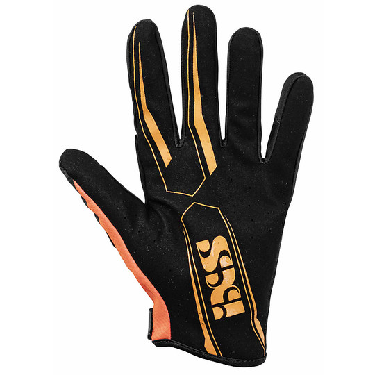 Gants moto cross enduro Ixs CROSS LITE AIR 2.0 Noir Orange