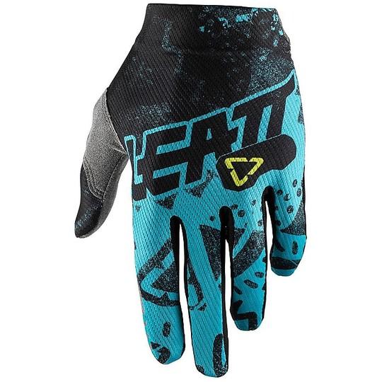 Gants moto Cross Enduro Leatt GPX 1.5 Grip Tech Blue