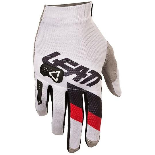 Gants moto cross Enduro Leatt GPX 3.5 Lite Blanc Noir