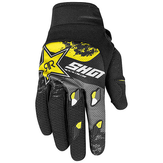 Gants Moto Cross Enduro Shot CONTACT ROCKSTAR 2020