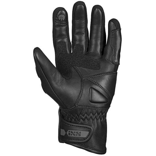 Gants moto cuir Ixs Sport TALURA 3.0 noir