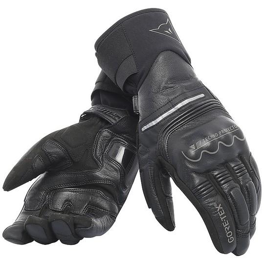 Gants moto en cuir Dainese UNIVERSE Gore-Tex noir