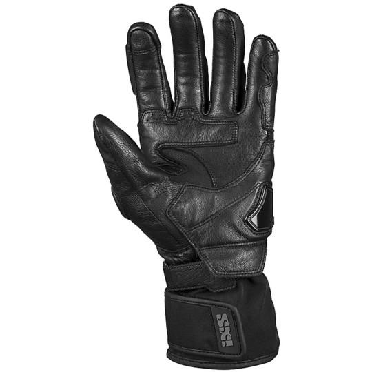 Gants moto en cuir et tissu tourisme Ixs VIPER-GTX 2.0 Noir