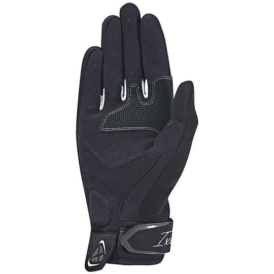 Gants moto femme tissu d'été Ixon RS LIFT Lady 2.0 noir blanc