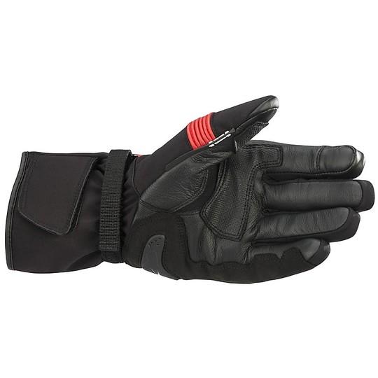 Gants moto mi-saison Alpinestars VALPARAISO v2 noir rouge